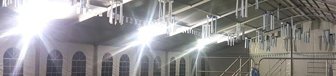Festmobiliar Beleuchtung