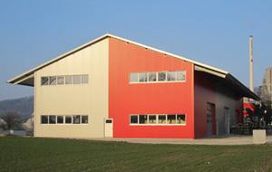 Gebhard Wildegg - Lagerhalle
