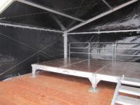 Festmobiliar Bühnen Bühne aus Elementen