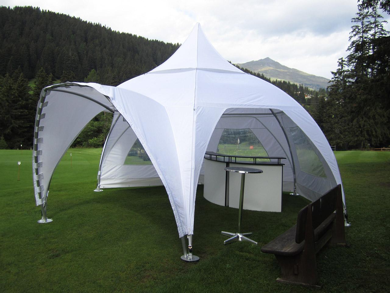 Festmobiliar Rundzelt Dome