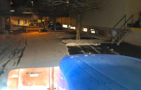 Lohnarbeiten Schneeräumung